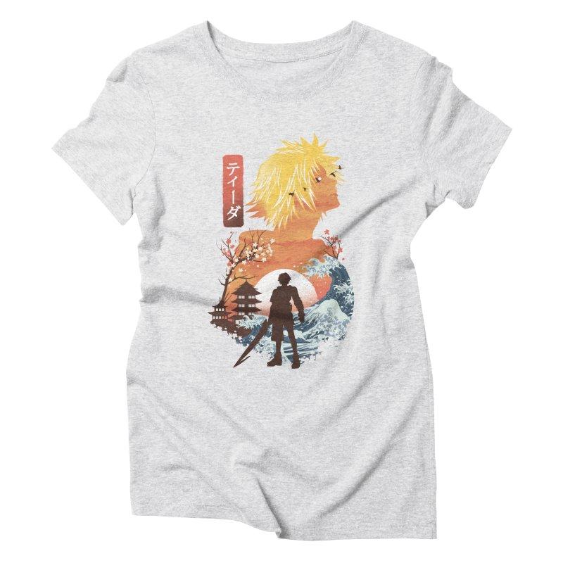 Ukiyo e Tidus Women's Triblend T-Shirt by dandingeroz's Artist Shop