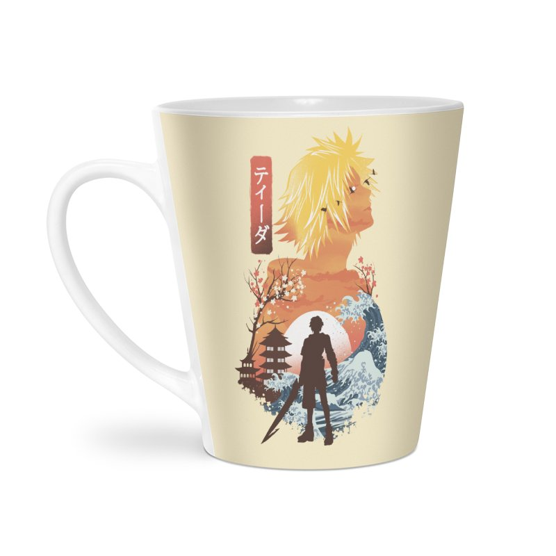 Ukiyo e Tidus Accessories Latte Mug by dandingeroz's Artist Shop