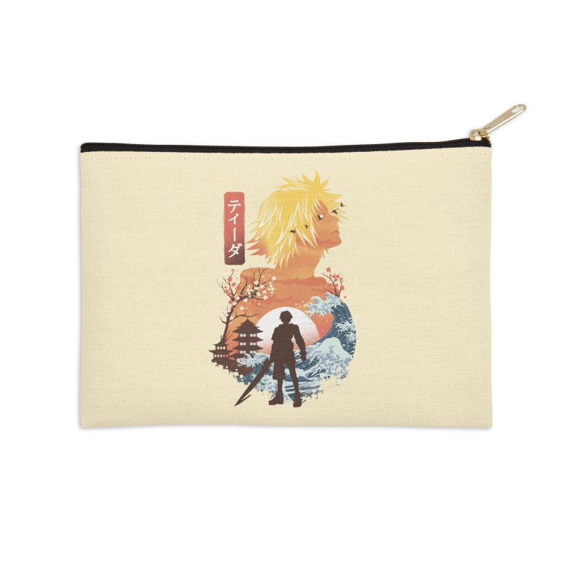 Ukiyo e Tidus Accessories Zip Pouch by dandingeroz's Artist Shop