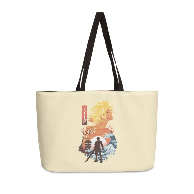Ukiyo e Tidus Accessories Weekender Bag Bag by dandingeroz's Artist Shop