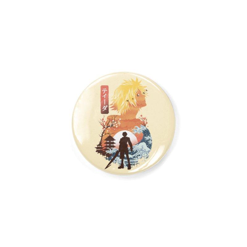 Ukiyo e Tidus Accessories Button by dandingeroz's Artist Shop