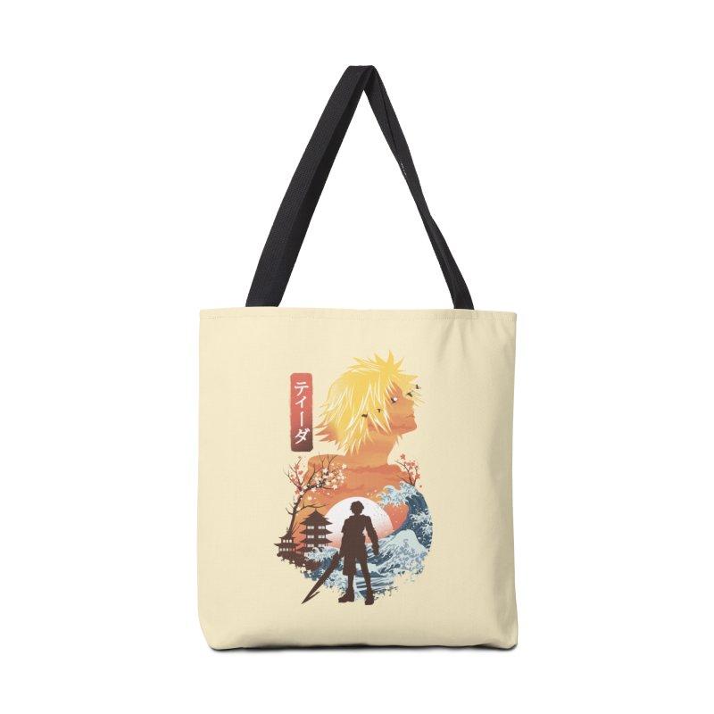 Ukiyo e Tidus Accessories Tote Bag Bag by dandingeroz's Artist Shop
