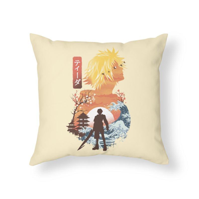 Ukiyo e Tidus Home Throw Pillow by dandingeroz's Artist Shop