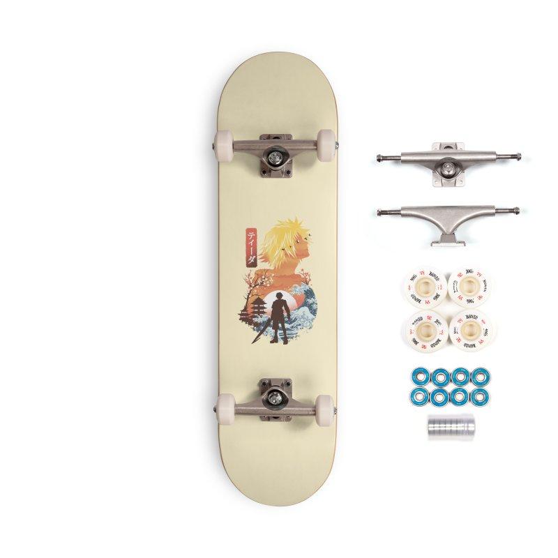 Ukiyo e Tidus Accessories Complete - Premium Skateboard by dandingeroz's Artist Shop
