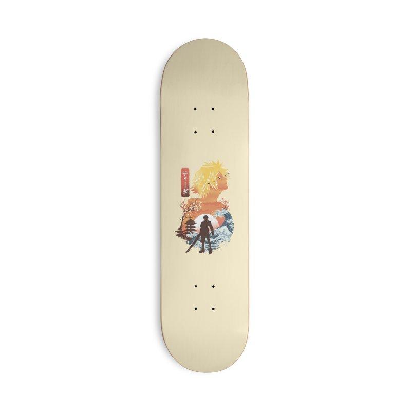 Ukiyo e Tidus Accessories Deck Only Skateboard by dandingeroz's Artist Shop