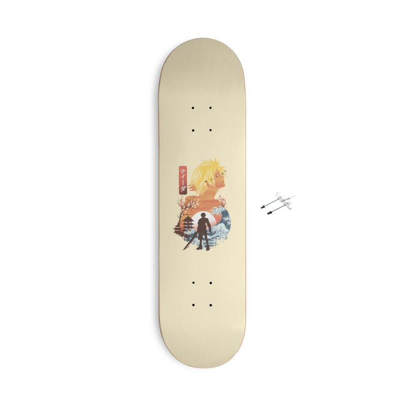 Ukiyo e Tidus Accessories With Hanging Hardware Skateboard by dandingeroz's Artist Shop