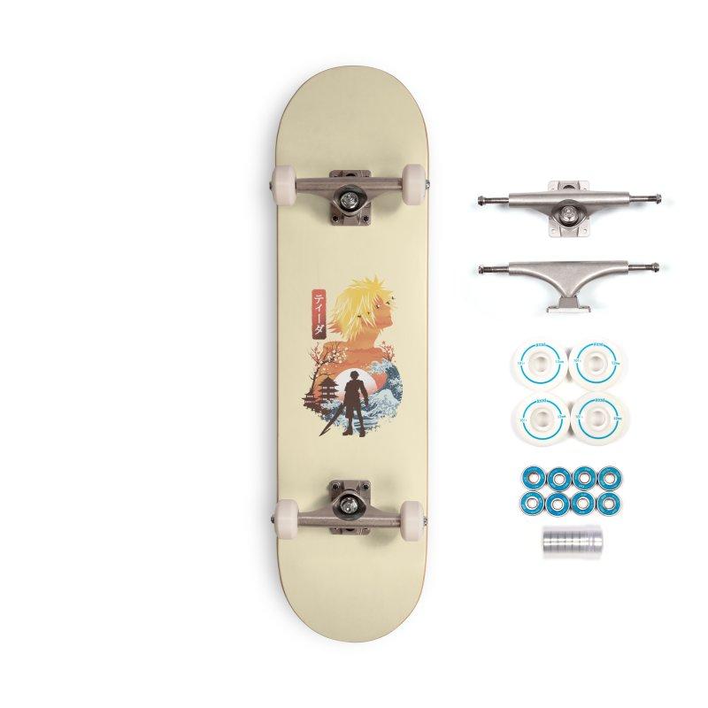 Ukiyo e Tidus Accessories Complete - Basic Skateboard by dandingeroz's Artist Shop