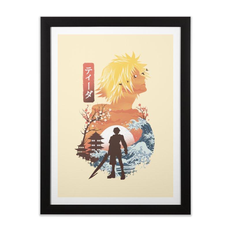Ukiyo e Tidus Home Framed Fine Art Print by dandingeroz's Artist Shop