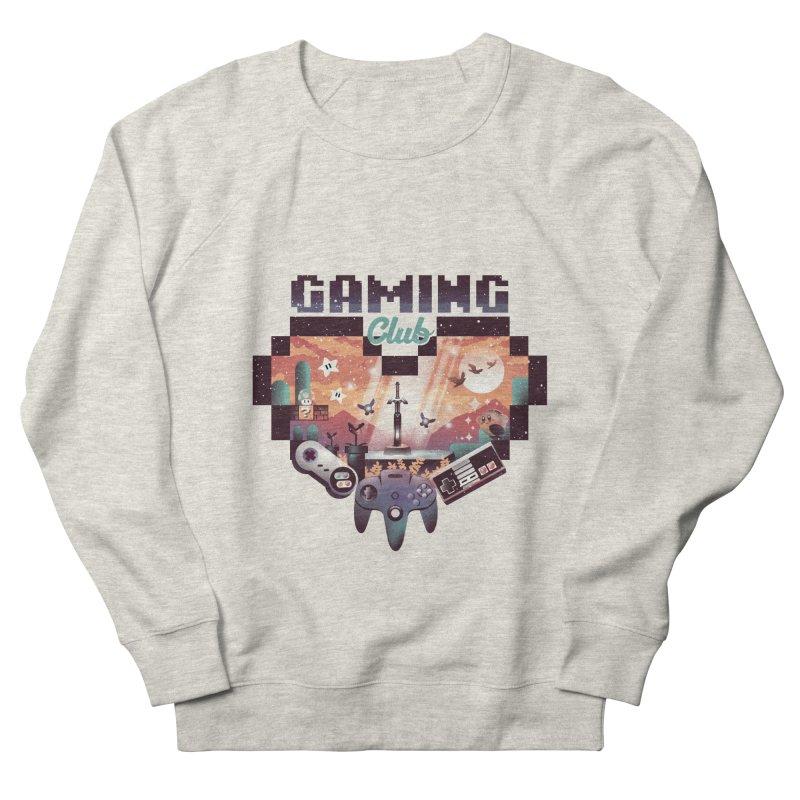 Retro Gaming Club Women's French Terry Sweatshirt by dandingeroz's Artist Shop