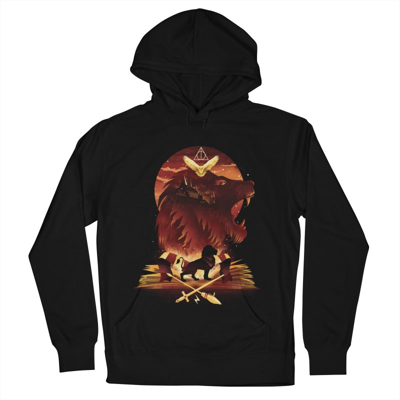 Book of Gryffindor Women's French Terry Pullover Hoody by dandingeroz's Artist Shop