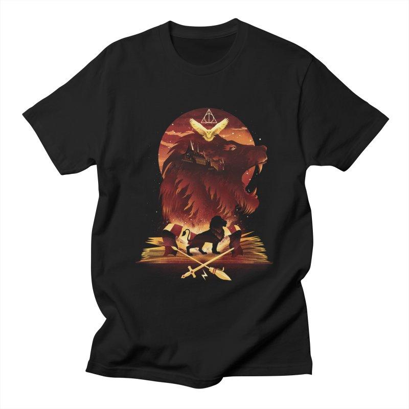 Book of Gryffindor Men's Regular T-Shirt by dandingeroz's Artist Shop