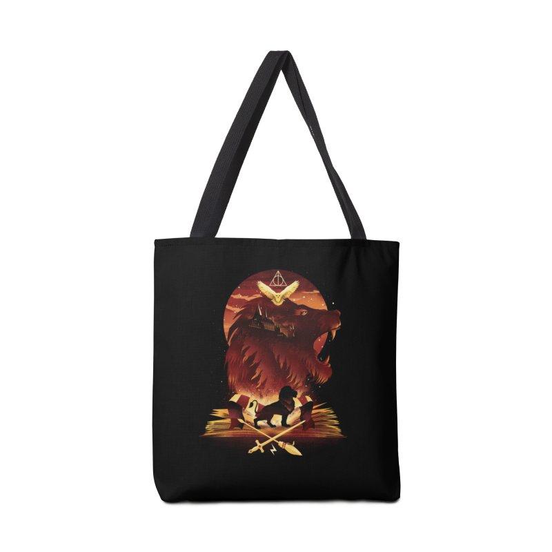 Book of Gryffindor Accessories Tote Bag Bag by dandingeroz's Artist Shop