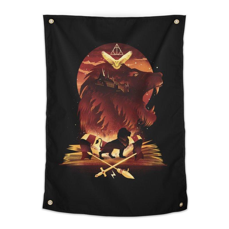Book of Gryffindor Home Tapestry by dandingeroz's Artist Shop