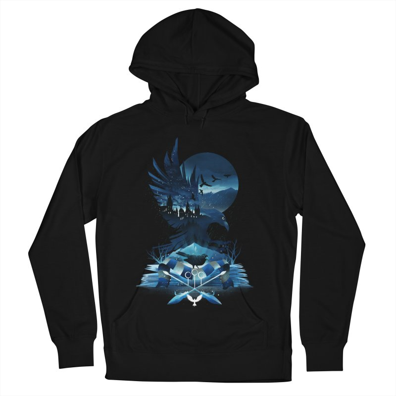 Book of Ravenclaw Women's French Terry Pullover Hoody by dandingeroz's Artist Shop