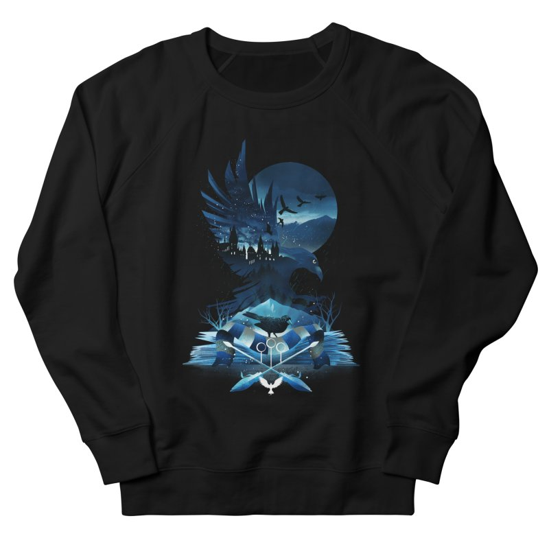 Book of Ravenclaw Men's French Terry Sweatshirt by dandingeroz's Artist Shop