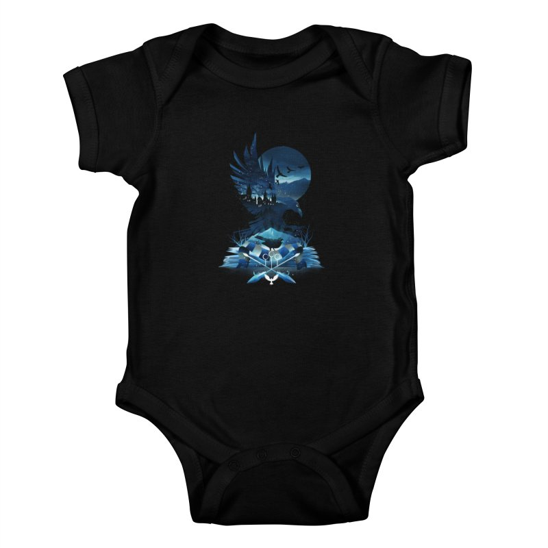 Book of Ravenclaw Kids Baby Bodysuit by dandingeroz's Artist Shop