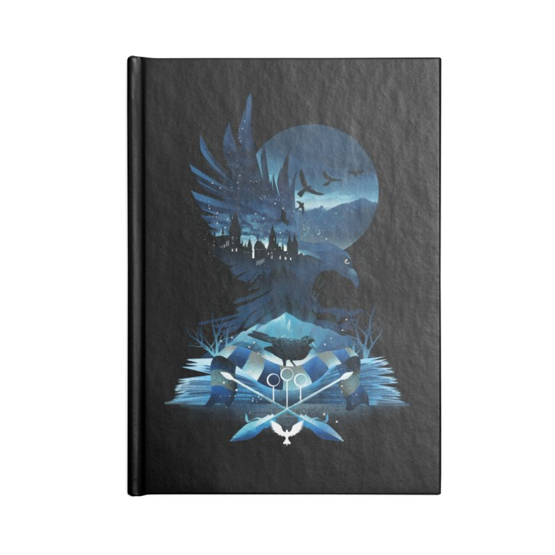 Book of Ravenclaw Accessories Lined Journal Notebook by dandingeroz's Artist Shop