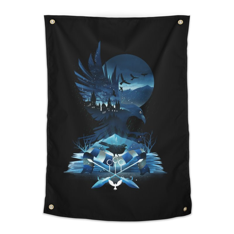 Book of Ravenclaw Home Tapestry by dandingeroz's Artist Shop