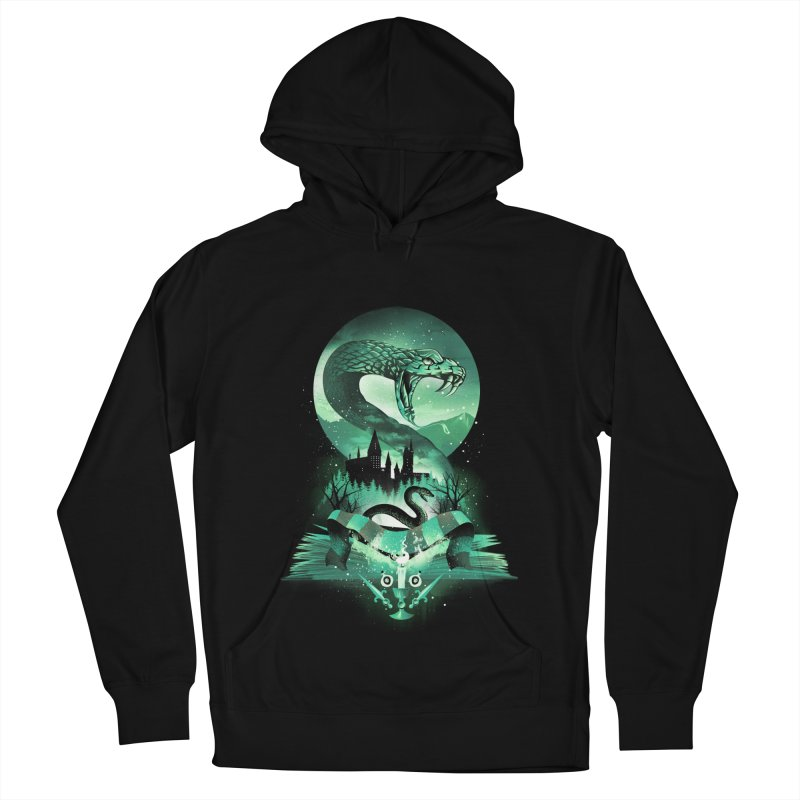 Book of Slytherin Women's French Terry Pullover Hoody by dandingeroz's Artist Shop