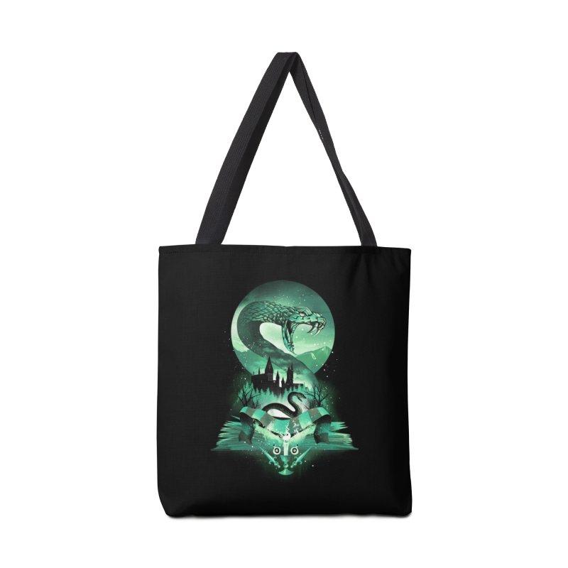 Book of Slytherin Accessories Tote Bag Bag by dandingeroz's Artist Shop