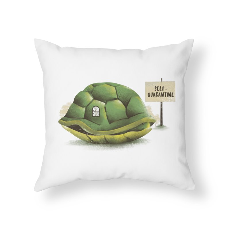 Stay at Home Home Throw Pillow by dandingeroz's Artist Shop