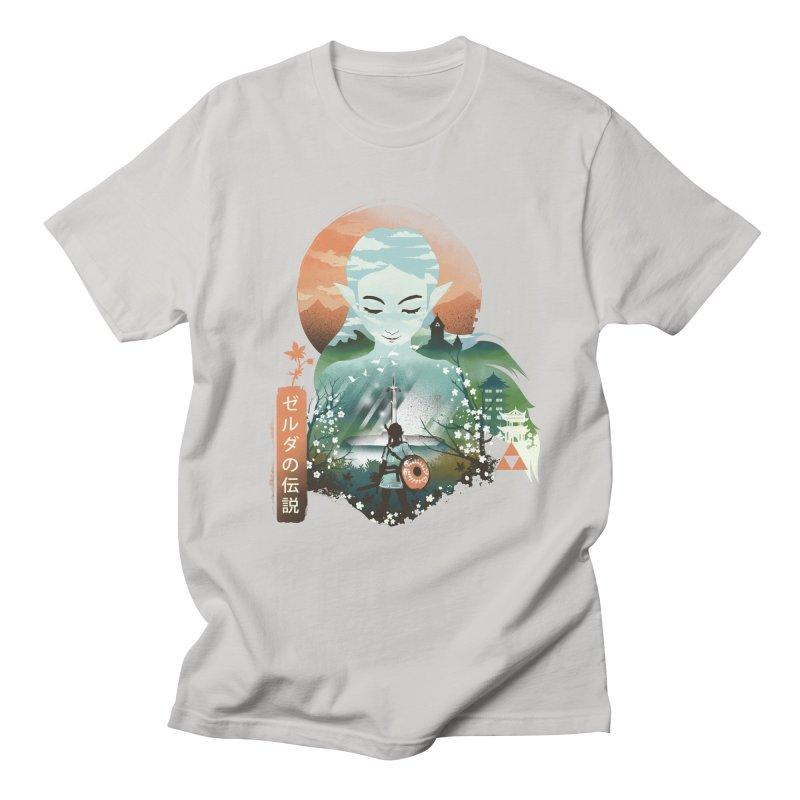 Princess Zelda Ukiyo E Men's T-Shirt by dandingeroz's Artist Shop
