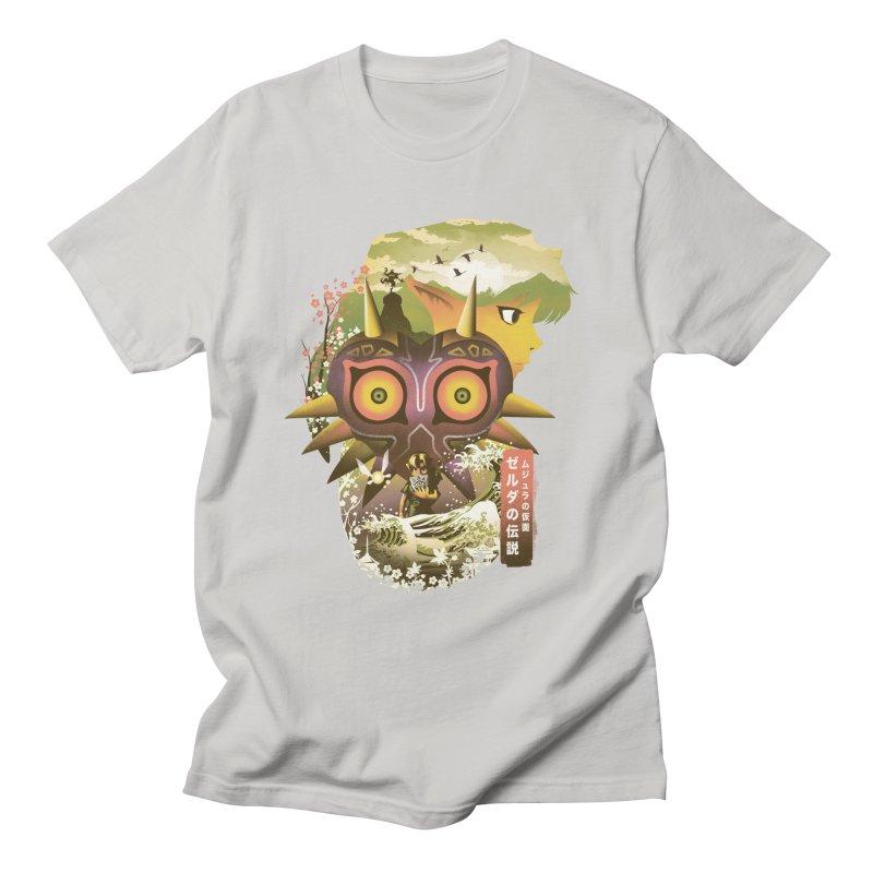 Majoras MAsk Ukiyo e Men's T-Shirt by dandingeroz's Artist Shop