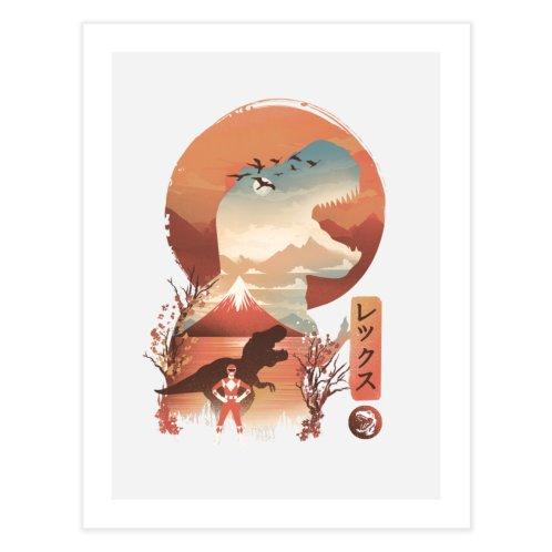 image for Red Ranger Ukiyo e
