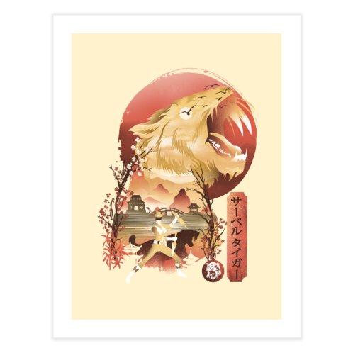 image for Yellow Ranger Ukiyo e