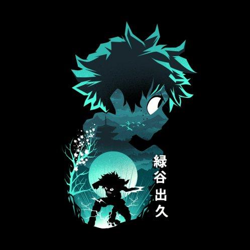 Design for Anime Hero Izuku