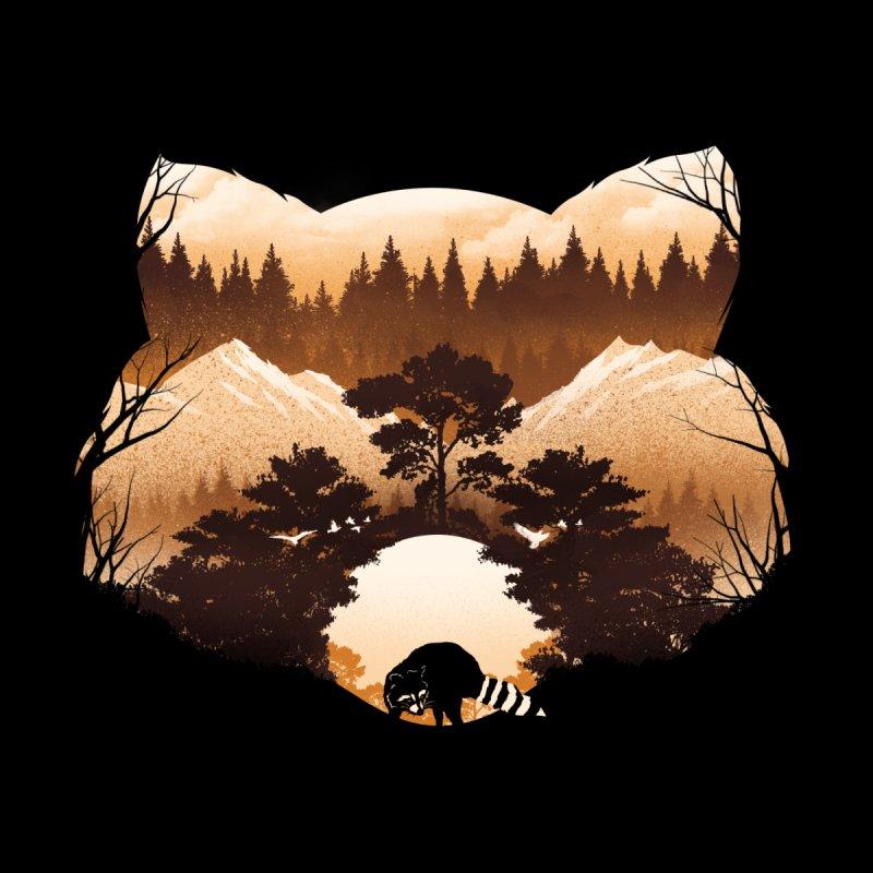 Raccoon Sunset Home Duvet by dandingeroz's Artist Shop