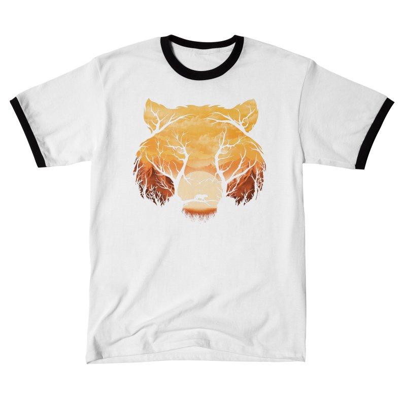 Wild Sunset Men's T-Shirt by dandingeroz's Artist Shop