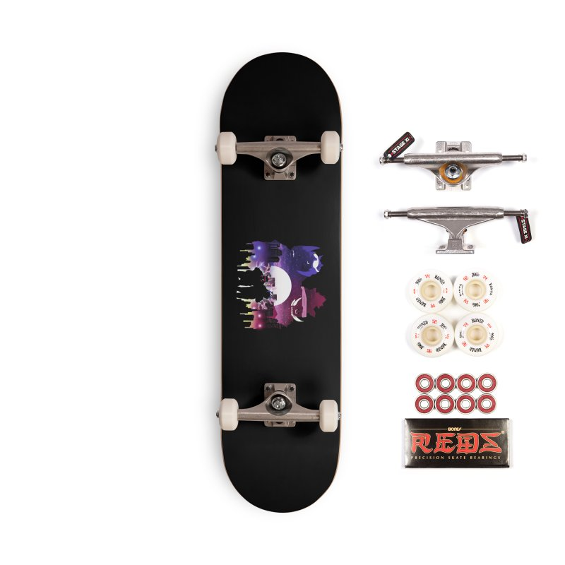 The Foot Clan Night Accessories Skateboard by dandingeroz's Artist Shop