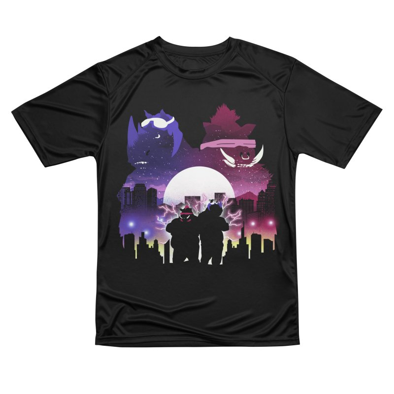 The Foot Clan Night Men's T-Shirt by dandingeroz's Artist Shop