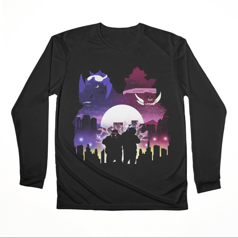 The Foot Clan Night Women's Longsleeve T-Shirt by dandingeroz's Artist Shop
