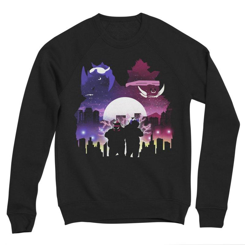 The Foot Clan Night Men's Sweatshirt by dandingeroz's Artist Shop