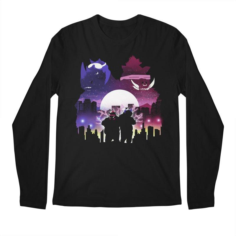 The Foot Clan Night Men's Longsleeve T-Shirt by dandingeroz's Artist Shop