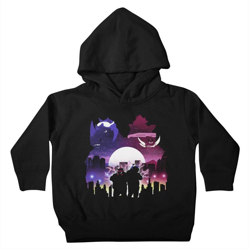 The Foot Clan Night Kids Toddler Pullover Hoody by dandingeroz's Artist Shop