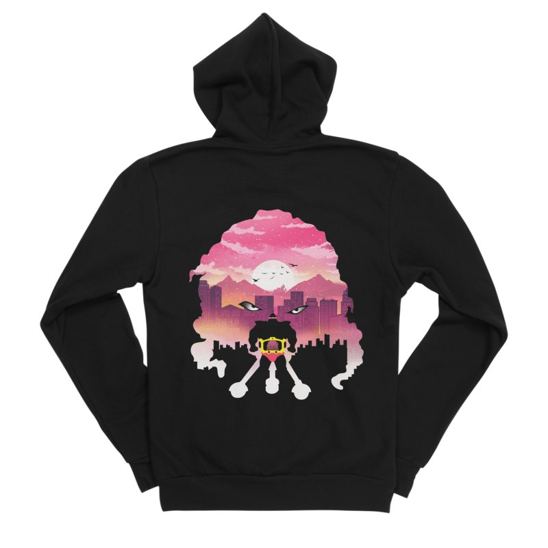 Krang Night Men's Zip-Up Hoody by dandingeroz's Artist Shop