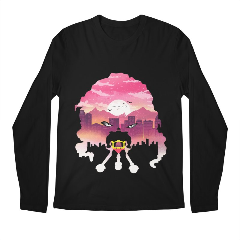 Krang Night Men's Longsleeve T-Shirt by dandingeroz's Artist Shop
