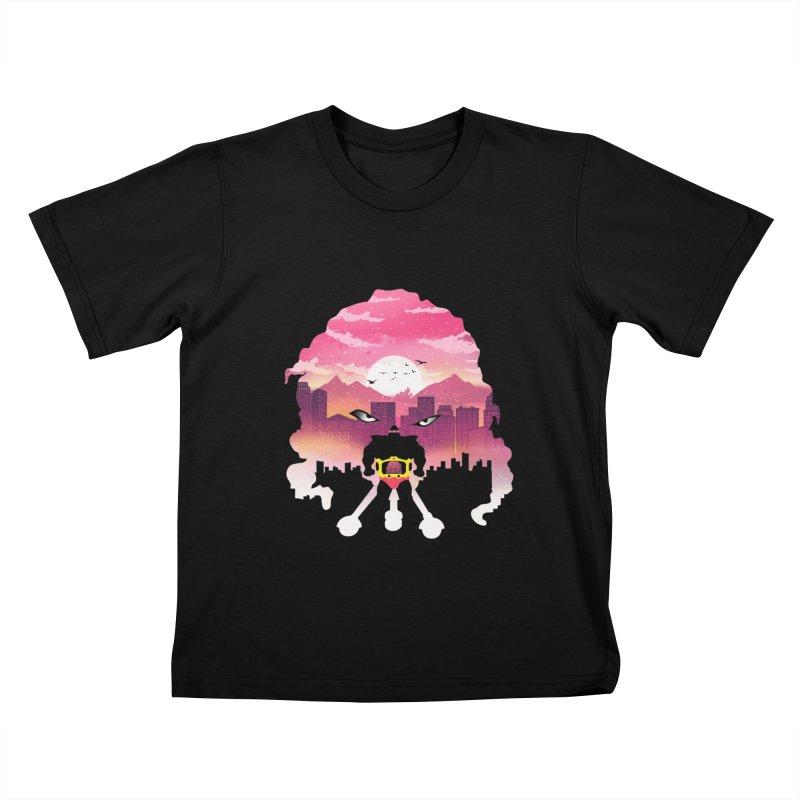 Krang Night Kids T-Shirt by dandingeroz's Artist Shop