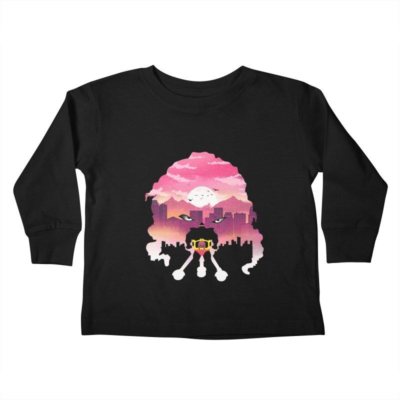 Krang Night Kids Toddler Longsleeve T-Shirt by dandingeroz's Artist Shop