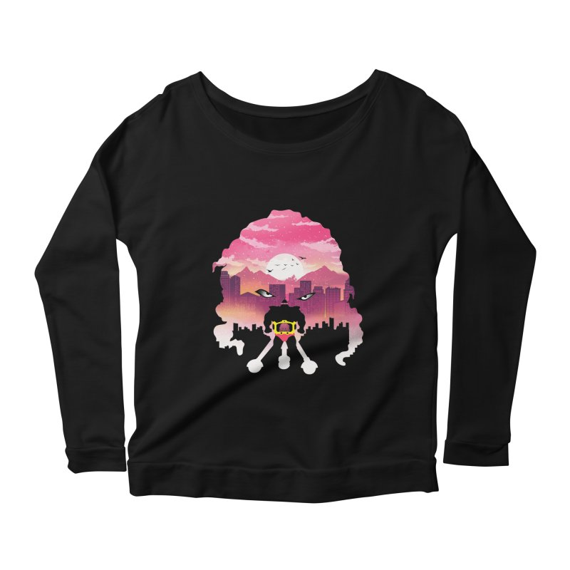 Krang Night Women's Longsleeve T-Shirt by dandingeroz's Artist Shop