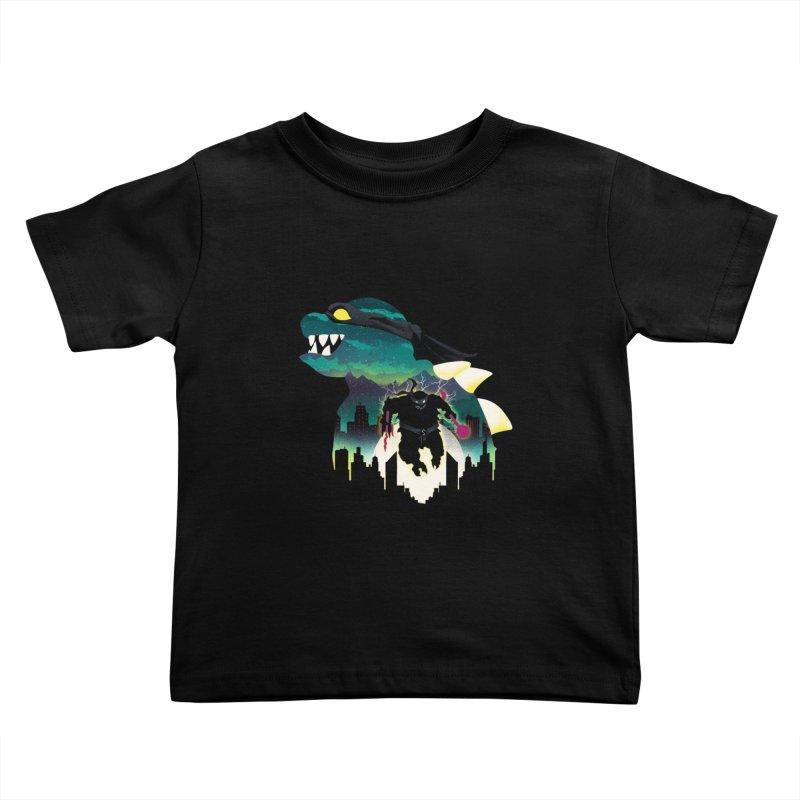 Slash Night Kids Toddler T-Shirt by dandingeroz's Artist Shop