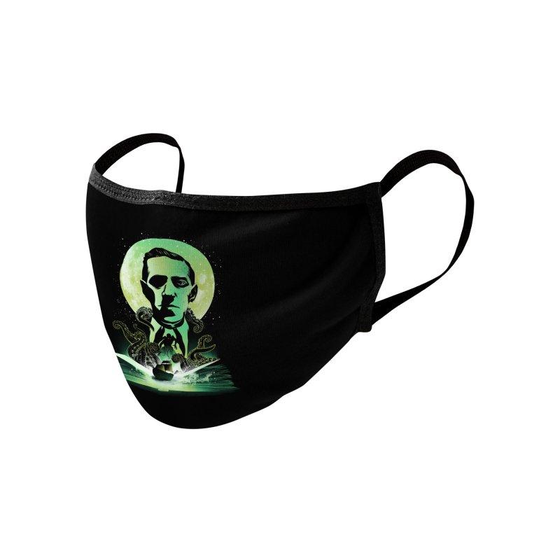 Book of Lovecraft Accessories Face Mask by dandingeroz's Artist Shop
