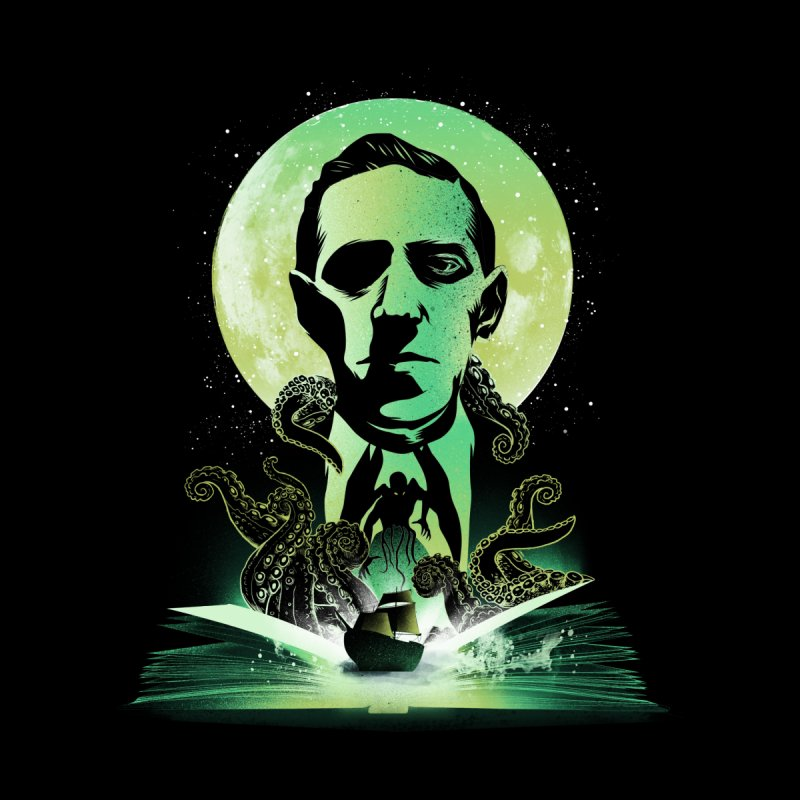 Book of Lovecraft Men's T-Shirt by dandingeroz's Artist Shop