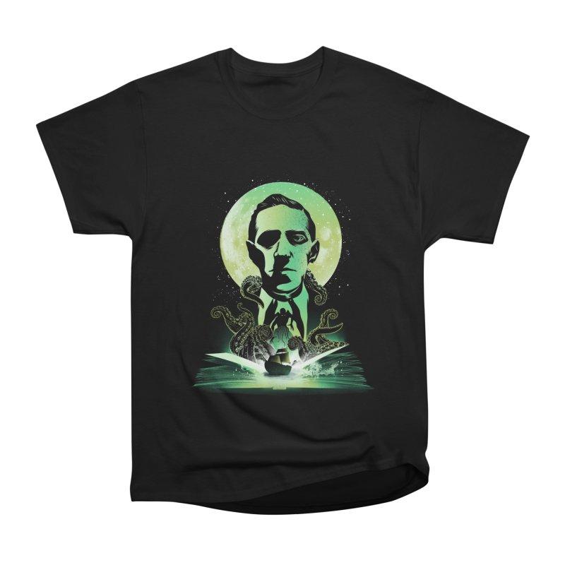 Book of Lovecraft Men's T-Shirt by dandingeroz's Artist Shop