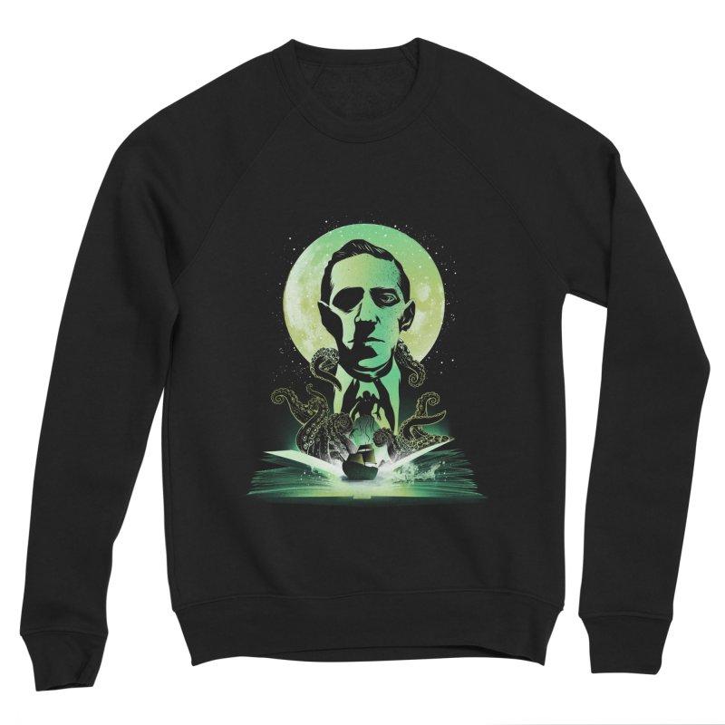 Book of Lovecraft Men's Sweatshirt by dandingeroz's Artist Shop