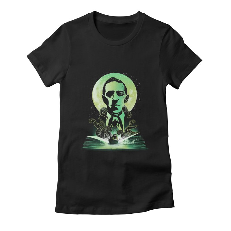 Book of Lovecraft Women's T-Shirt by dandingeroz's Artist Shop