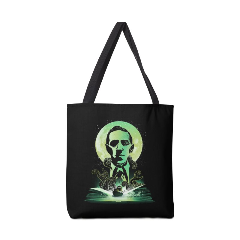 Book of Lovecraft Accessories Bag by dandingeroz's Artist Shop